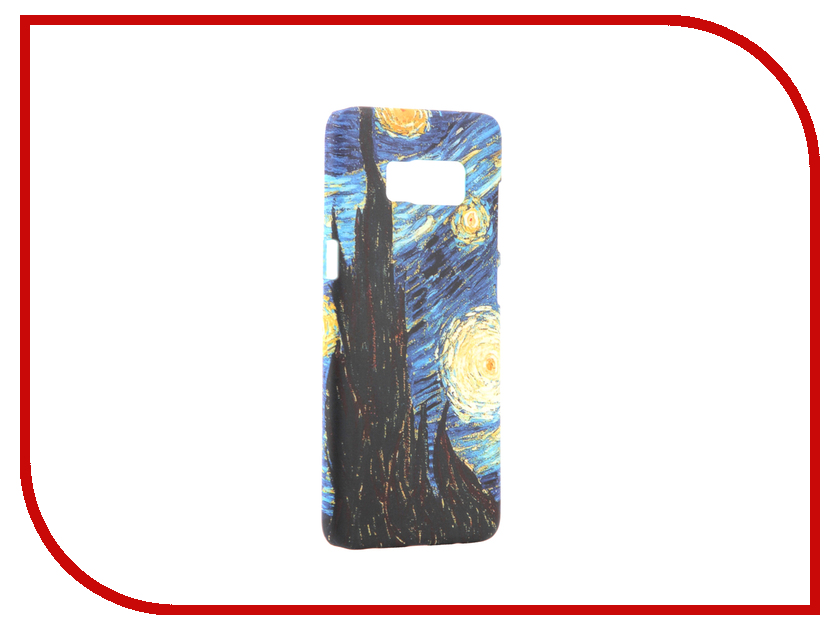 Аксессуар Чехол Samsung Galaxy S8 With Love. Moscow Starlight Night 7037 аксессуар чехол samsung galaxy s8 with love moscow starlight night 7037