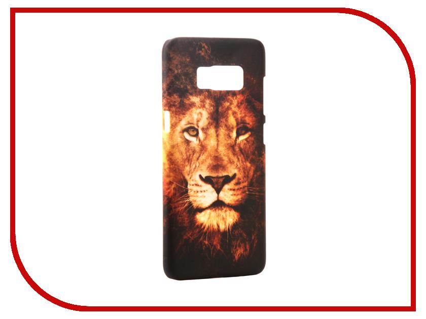 Аксессуар Чехол Samsung Galaxy S8 With Love. Moscow Lion 2 7045 чехлы для телефонов with love moscow силиконовый дизайнерский чехол для meizu m3s перья