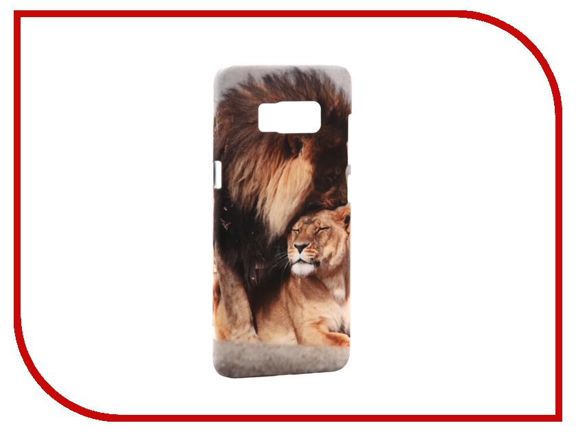 Аксессуар Чехол Samsung Galaxy S8 With Love. Moscow Lions 7048 чехлы для телефонов with love moscow силиконовый дизайнерский чехол для meizu m3s перья