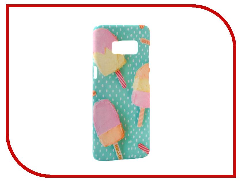 Аксессуар Чехол Samsung Galaxy S8 With Love. Moscow Ice Cream 2 7051 слингобусы ti amo мама слингобусы сильвия
