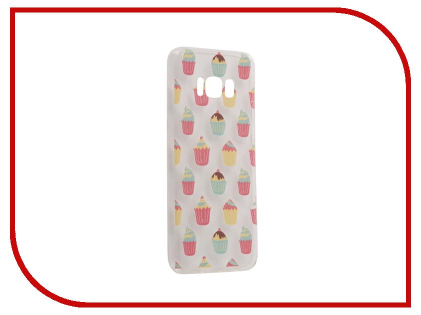 Аксессуар Чехол Samsung Galaxy S8 With Love. Moscow Cupcakes 7064 аксессуар чехол samsung galaxy s8 with love moscow starlight night 7037