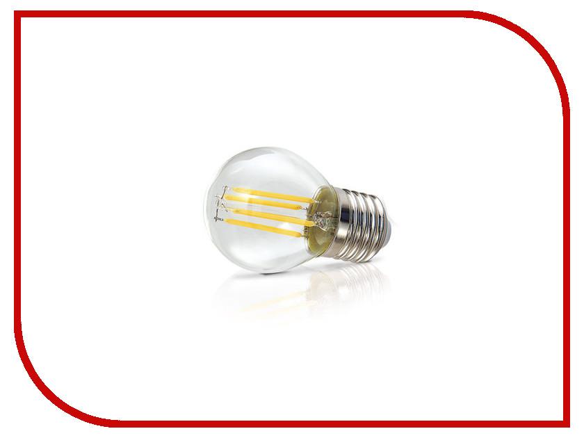 Лампочка ECOWATT Шарик P45 E27 5.3W 230V 4000K Cold White