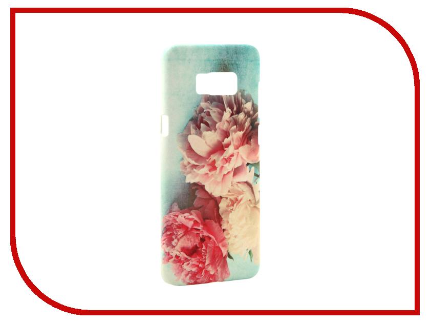 Аксессуар Чехол Samsung Galaxy S8 Plus With Love. Moscow Flowers 3 7073 чехлы для телефонов with love moscow силиконовый дизайнерский чехол для meizu m3s перья
