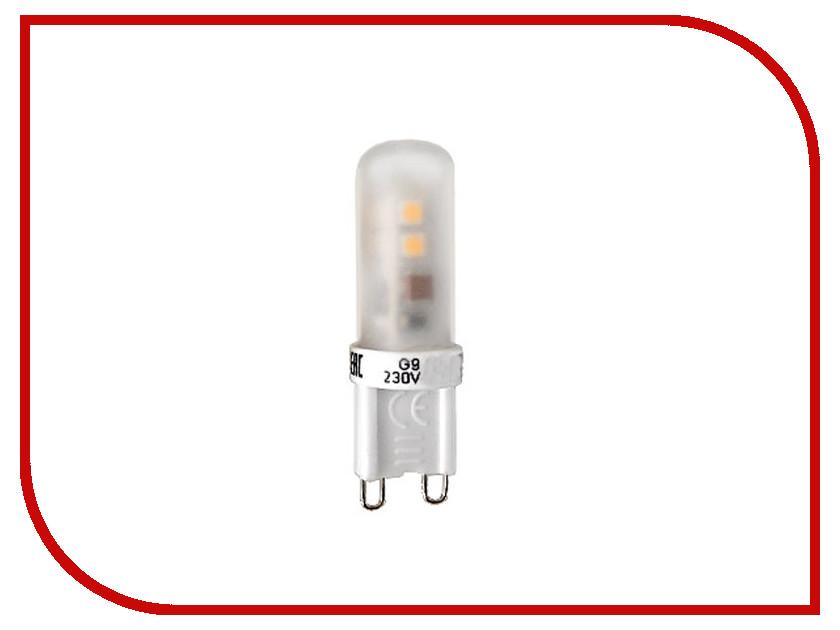 Лампочка ECOWATT G9 3W 230V 3000K Warm White лампочка ecowatt шарик p45 e14 5 3w 230v 2700k warm white