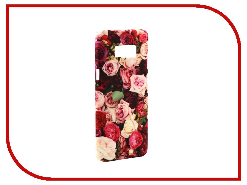Аксессуар Чехол Samsung Galaxy S8 Plus With Love. Moscow Flowers 7074 аксессуар чехол with love moscow samsung galaxy s8 plus кожаный black 1616