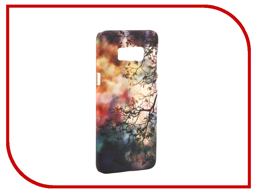 Аксессуар Чехол Samsung Galaxy S8 Plus With Love. Moscow Branches 7088 7088 20
