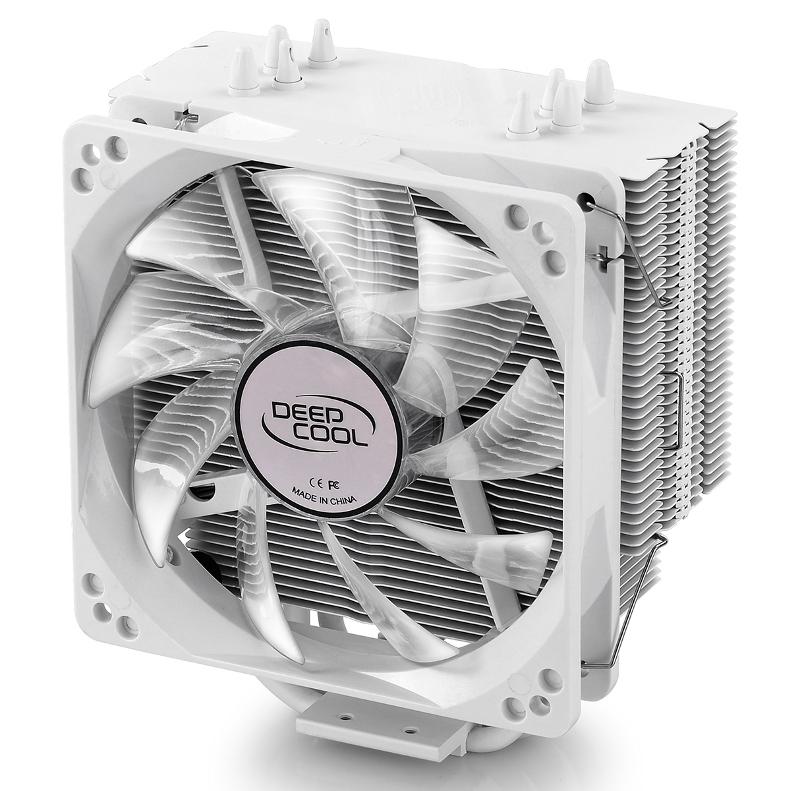 Кулер DeepCool Gammaxx 400 White (Intel LGA2011-V3/2011/1366/1156/55/51/50/775/AMD FM2+/FM2/FM1/AM3+/AM3/AM2+/AM2/AM4)