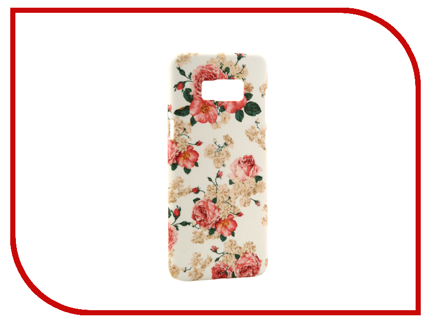 Аксессуар Чехол Samsung Galaxy S8 Plus With Love. Moscow Dwarf Roses 7096 аксессуар чехол with love moscow samsung galaxy s8 plus кожаный black 1616