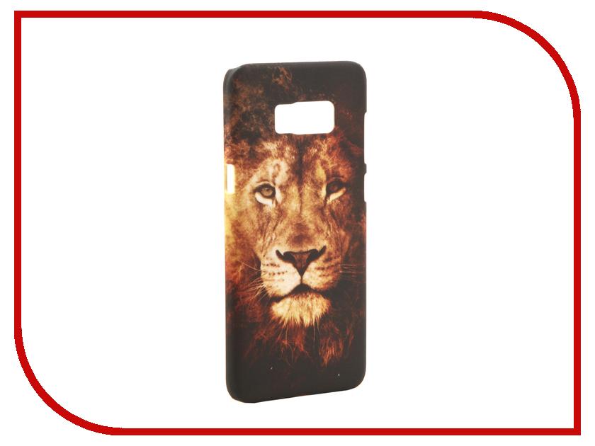 Аксессуар Чехол Samsung Galaxy S8 Plus With Love. Moscow Lion 2 7101 чехлы для телефонов with love moscow силиконовый дизайнерский чехол для meizu m3s перья