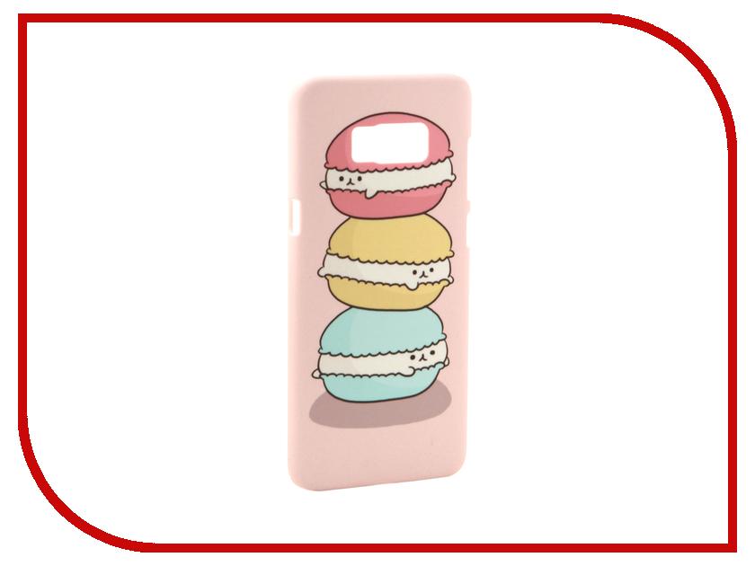 Аксессуар Чехол Samsung Galaxy S8 Plus With Love. Moscow Makarons 2 7106 чехлы для телефонов with love moscow силиконовый дизайнерский чехол для meizu m3s перья