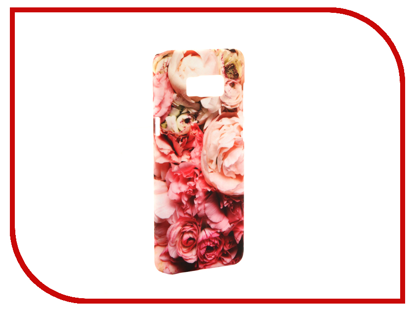 Аксессуар Чехол Samsung Galaxy S8 Plus With Love. Moscow Peonies 7112 аксессуар чехол with love moscow samsung galaxy s8 plus кожаный black 1616