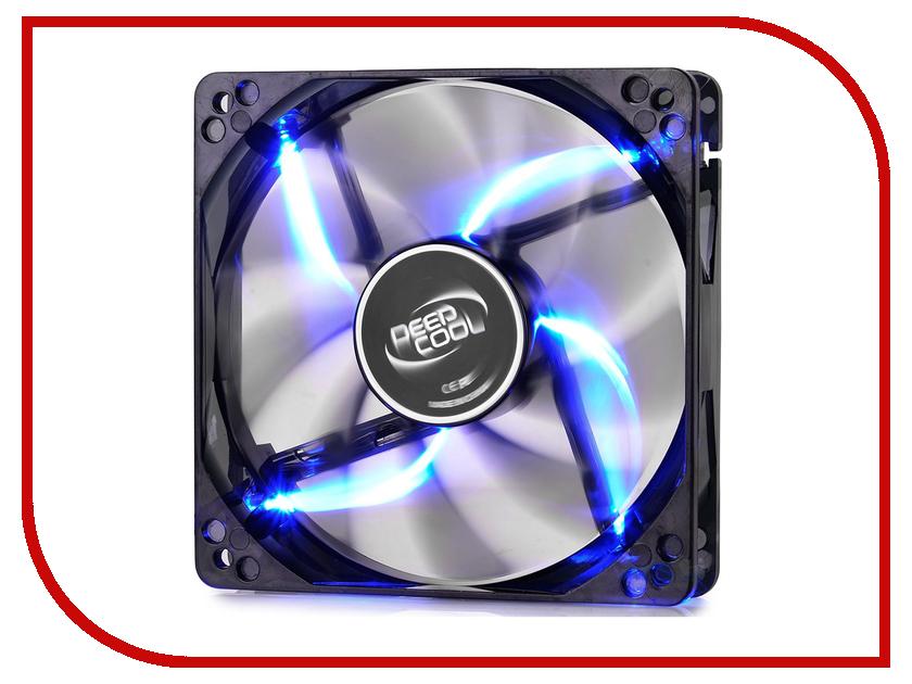 Вентилятор DeepCool Wind Blade 120 Blue 120x120x25mm add a circuit blade fuse holder with 30a blade fuse black medium size