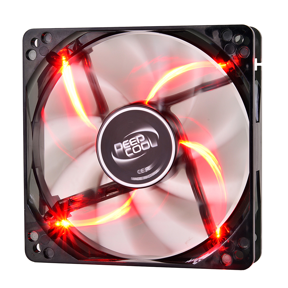 Вентилятор DeepCool Wind Blade 120x120x25mm Red