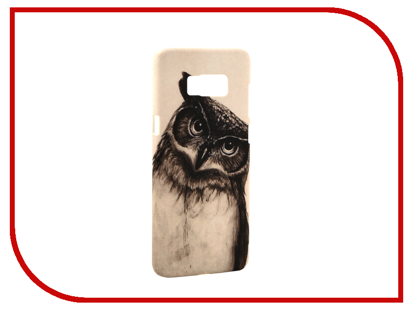 Аксессуар Чехол Samsung Galaxy S8 Plus With Love. Moscow Owl 2 7119 аксессуар чехол with love moscow samsung galaxy s8 plus кожаный black 1616