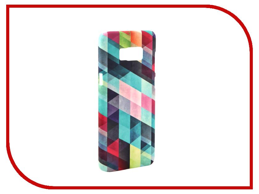 Аксессуар Чехол Samsung Galaxy S8 Plus With Love. Moscow Patterns 7121 hem 7121 aru