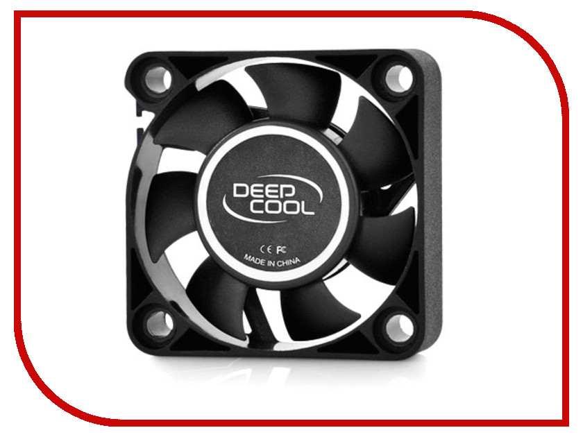 Вентилятор DeepCool XFAN 40 40x40x10mm вентилятор deepcool xfan 70 70мм bulk