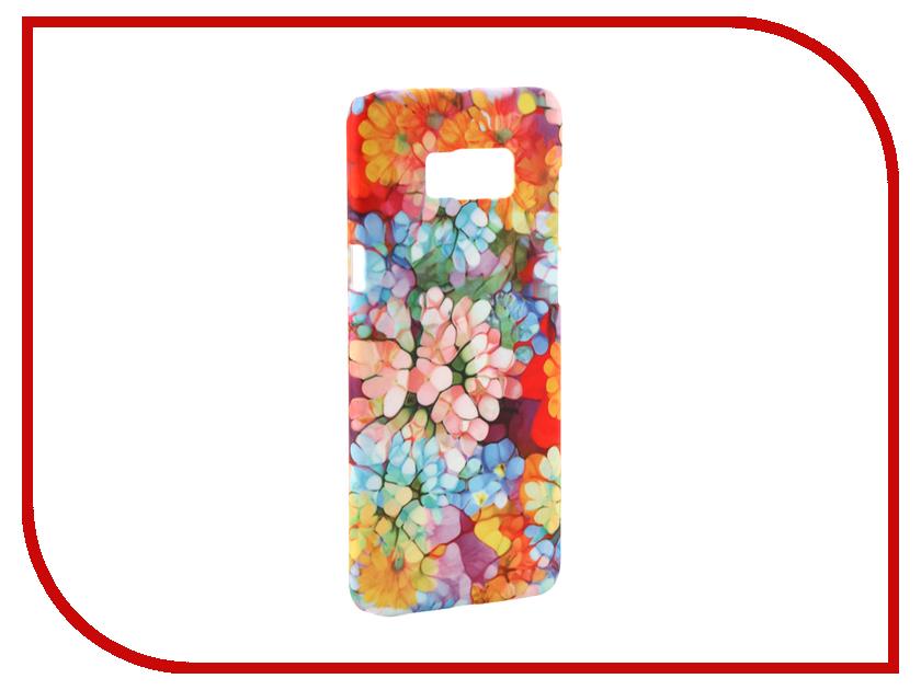Аксессуар Чехол Samsung Galaxy S8 Plus With Love. Moscow Flower Pattern 7124 аксессуар чехол samsung galaxy s8 with love moscow starlight night 7037