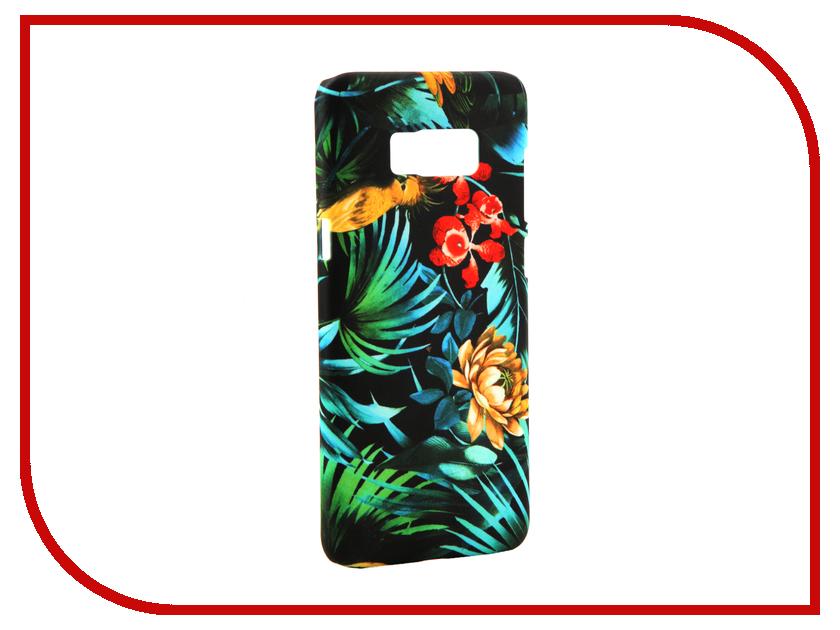 Аксессуар Чехол Samsung Galaxy S8 Plus With Love. Moscow Flowers 4 7126 аксессуар чехол with love moscow samsung galaxy s8 plus кожаный black 1616