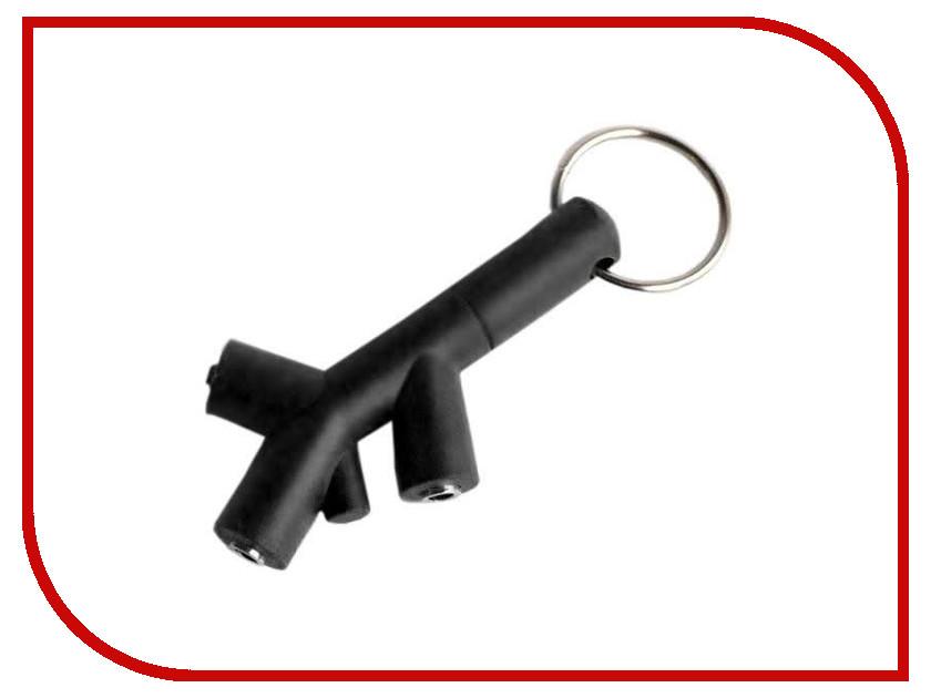 Аксессуар Foshan! 3.5 Jack - 2x3.5 Jack Black 6383 игрушка антистресс foshan лупоглазы злой кабачок
