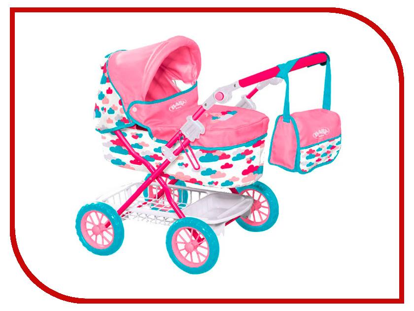 Игра Zapf Creation Baby Born Коляска делюкс с сумкой 1423494 zapf creation сандали фантазийные розовые baby born