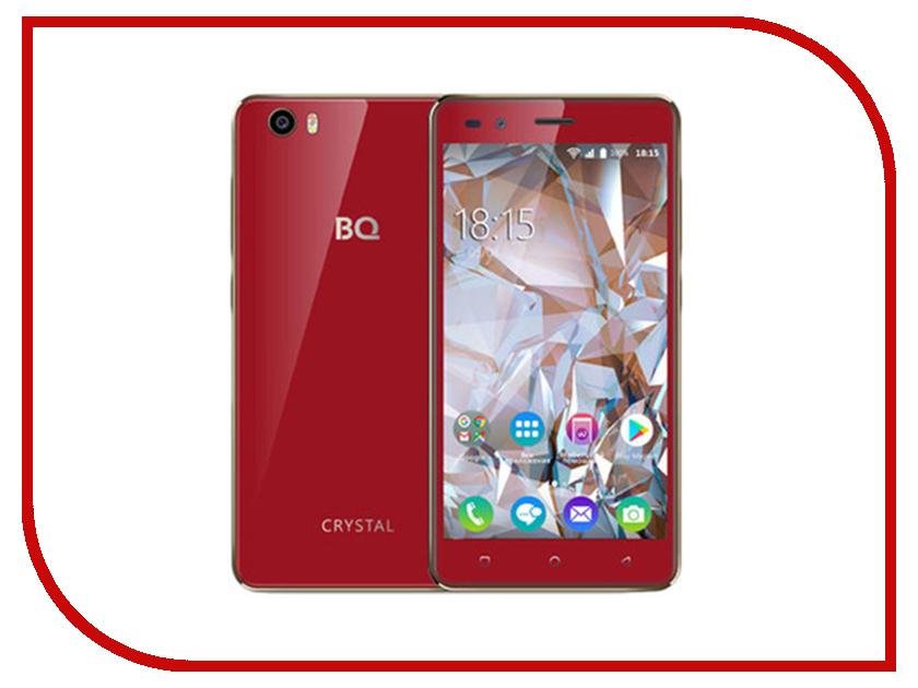 Сотовый телефон BQ 5054 Crystal Red смартфон bq mobile bq 5054 crystal черный