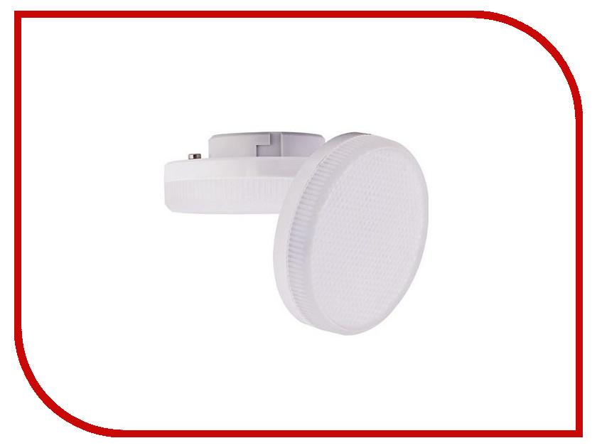 Лампочка Ecola LED Premium GX53 8.5W Tablet 220V 6000K матовое стекло T5UD85ELC ecola ecola gx53 led 8003a светильник накладной ip65 прозрачный цилиндр металл 1 gx53 белый матовый 114x1