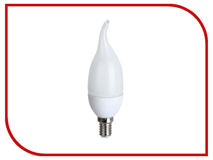 Лампочка Ecola Candle LED Premium E14 8W 220V 2700K C4YW80ELC молния для одежды yw market 80 ab 80cm