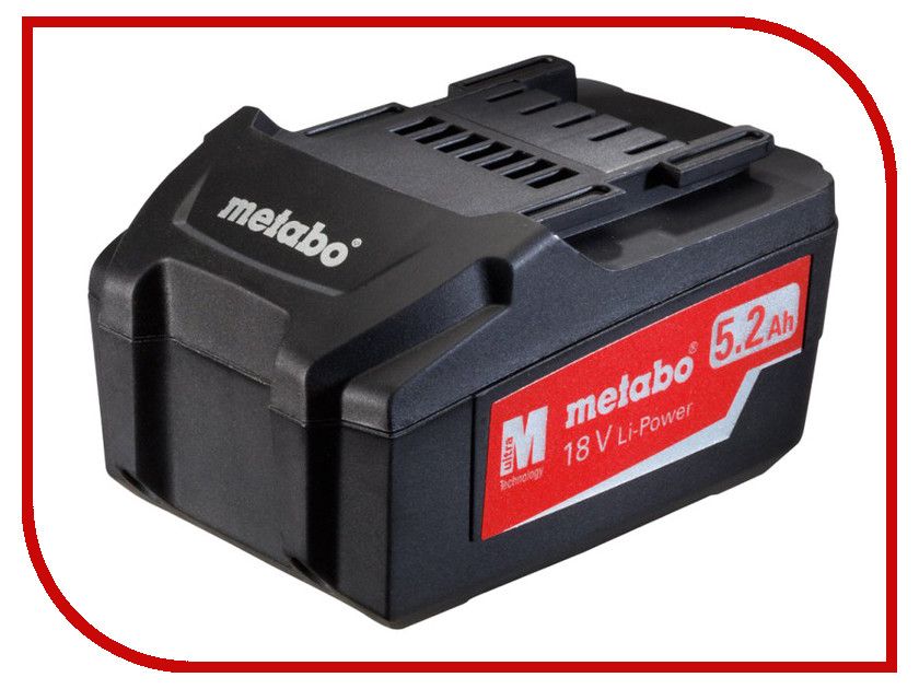 Аккумулятор Metabo 18V 5.2 Ah LI-Power Extreme 625592000