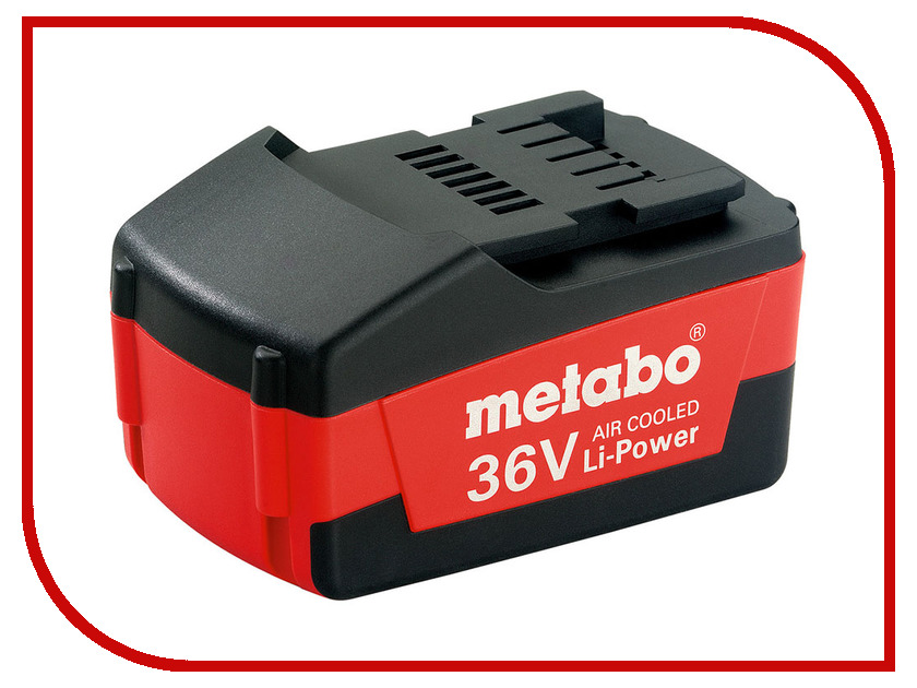 Аккумулятор Metabo 36V 1.5 Ah Li-Power Compact 625453000 аккумулятор metabo 10 8v 5 2 ah li power 625597000