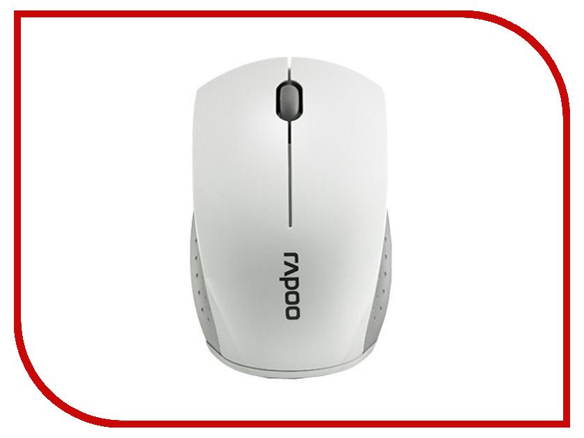 Мышь Rapoo 3360 mini Grey мышь rapoo n1162 белый