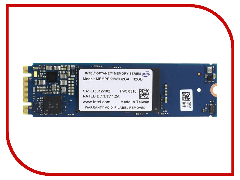 Жесткий диск 32Gb - Intel Optane M.2 MEMPEK1W032GAXT