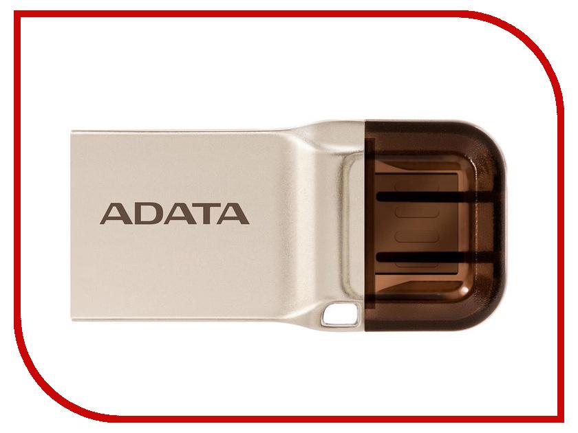 Zakazat.ru: USB Flash Drive 32Gb - A-Data DashDrive UC360 OTG USB 3.1/MicroUSB Gold AUC360-32G-RGD