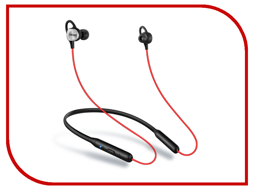Meizu EP52 Bluetooth Earphone Black-Red гарнитура meizu ep52 bluetooth earphone black red