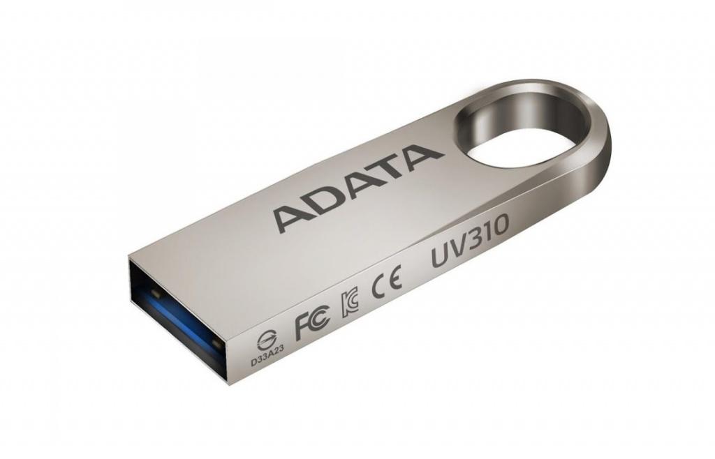 USB Flash Drive 32Gb - A-Data DashDrive UV310 USB 3.0 Gold AUV310-32G-RGD цена