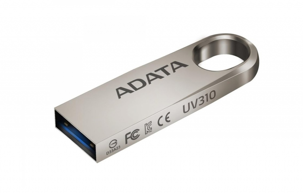 USB Flash Drive 16Gb - A-Data DashDrive UV310 USB 3.0 Gold AUV310-16G-RGD цена