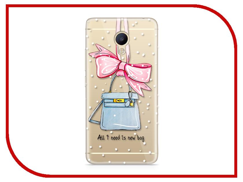 Аксессуар Чехол Meizu M5 Note With Love. Moscow Silicone New Bag 6746 чехлы для телефонов with love moscow силиконовый дизайнерский чехол для meizu m3s перья
