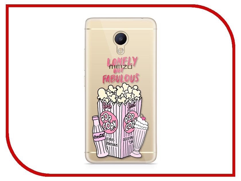Аксессуар Чехол Meizu M5 Note With Love. Moscow Silicone Popcorn 6749 чехлы для телефонов with love moscow силиконовый дизайнерский чехол для meizu m5 note цветок 2