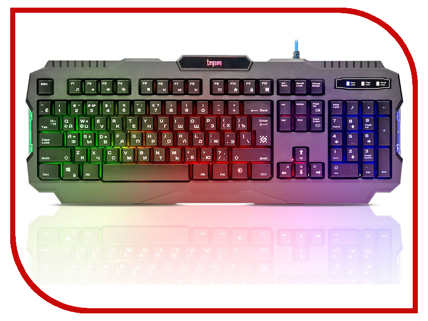 Клавиатура Defender Legion GK-010DL 45010