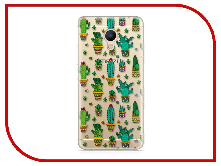 Аксессуар Чехол Meizu M5 Note With Love. Moscow Silicone Cactus 6764 чехлы для телефонов with love moscow силиконовый дизайнерский чехол для meizu m5 note цветок 2