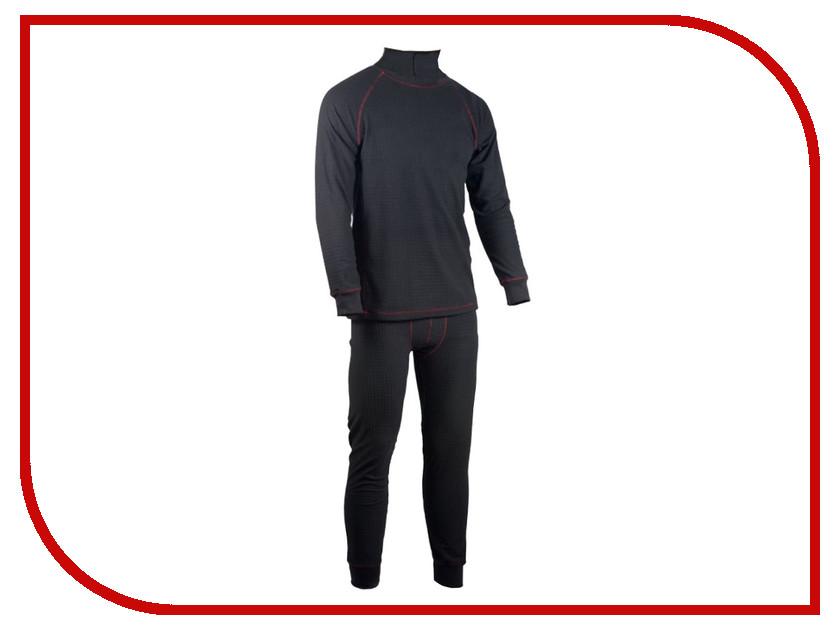 Термобелье Huntsman Zip Фактурный XL р.52-54 Black