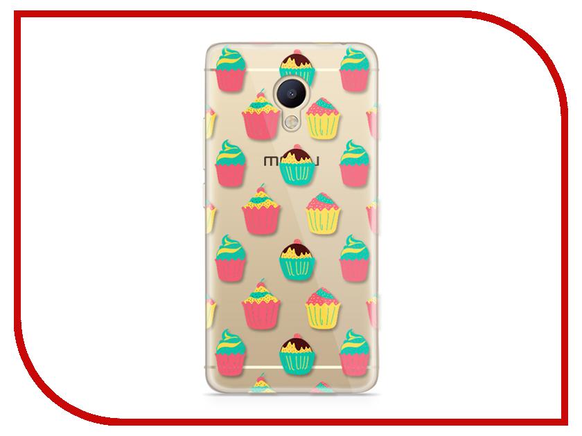 Аксессуар Чехол Meizu M5 Note With Love. Moscow Silicone Cupcakes 6765 чехлы для телефонов with love moscow силиконовый дизайнерский чехол для meizu m5 note цветок 2