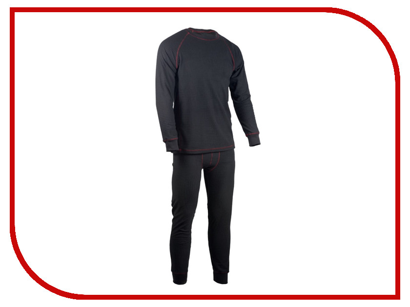 Термобелье Huntsman Фактурный XL р.52-54 Black