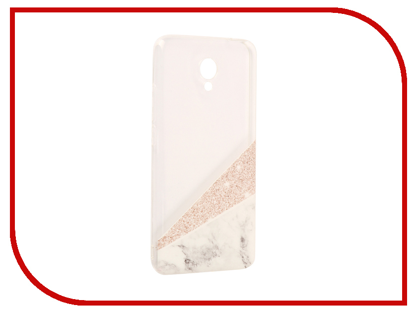Аксессуар Чехол Meizu M5 Note With Love. Moscow Silicone Marble 6777 чехлы для телефонов with love moscow силиконовый дизайнерский чехол для meizu m3s перья