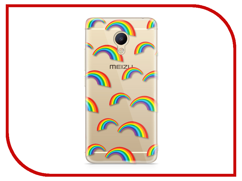 Аксессуар Чехол Meizu M5 Note With Love. Moscow Silicone Peace 6747