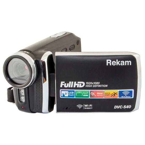 Видеокамера Rekam DVC-540 Black