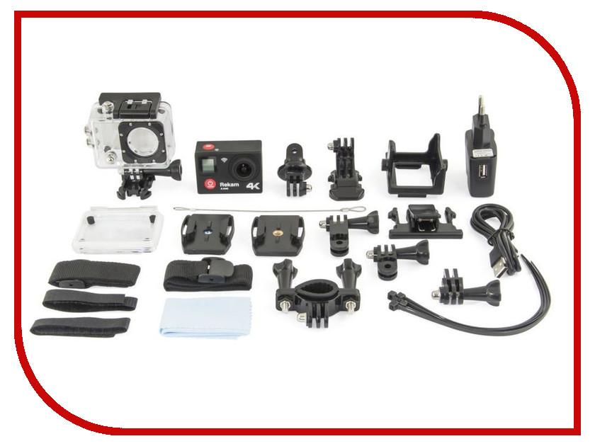 Экшн-камера Rekam A340 видеокамера rekam dvc 340 черный flash [2504000001]