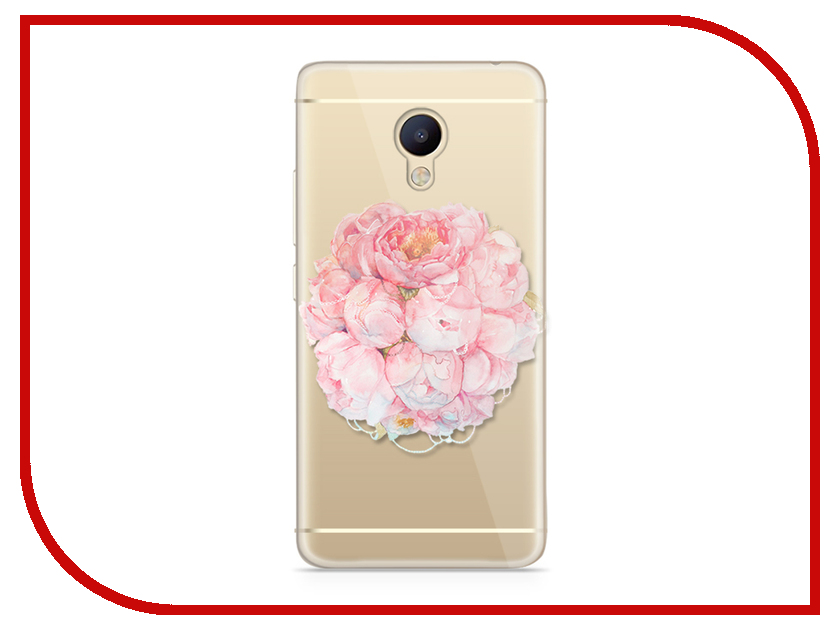 для Meizu 6788  Аксессуар Чехол Meizu M5 Note With Love. Moscow Silicone Flower 6788