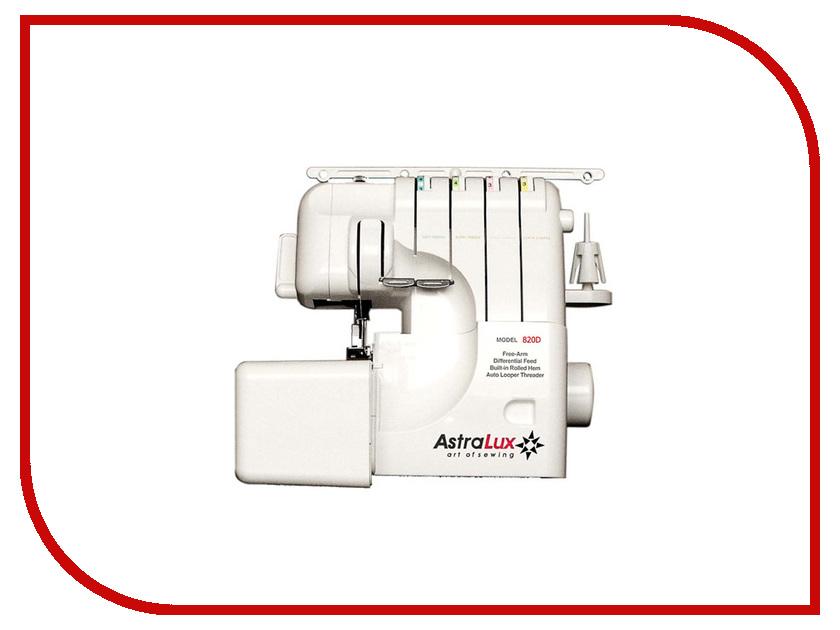 Оверлок AstraLux 820D швейная машинка astralux 7350 pro series вышивальный блок ems700