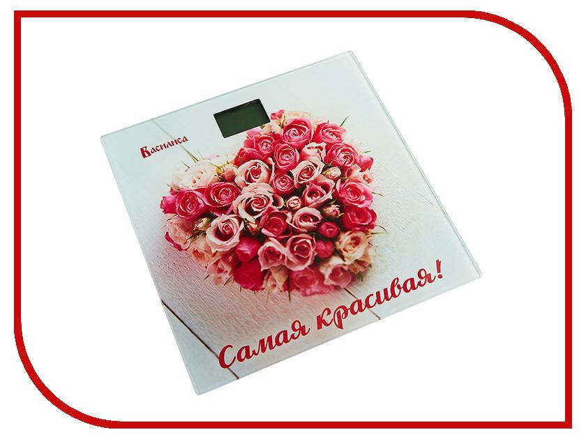 Весы напольные Василиса ВА-4006 Самая красивая розы
