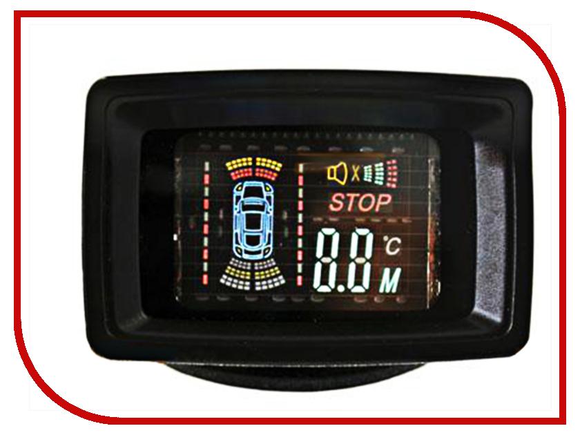 Парктроник SVS LED-088-4 Black парктроник parkmaster 4 xj 51 black